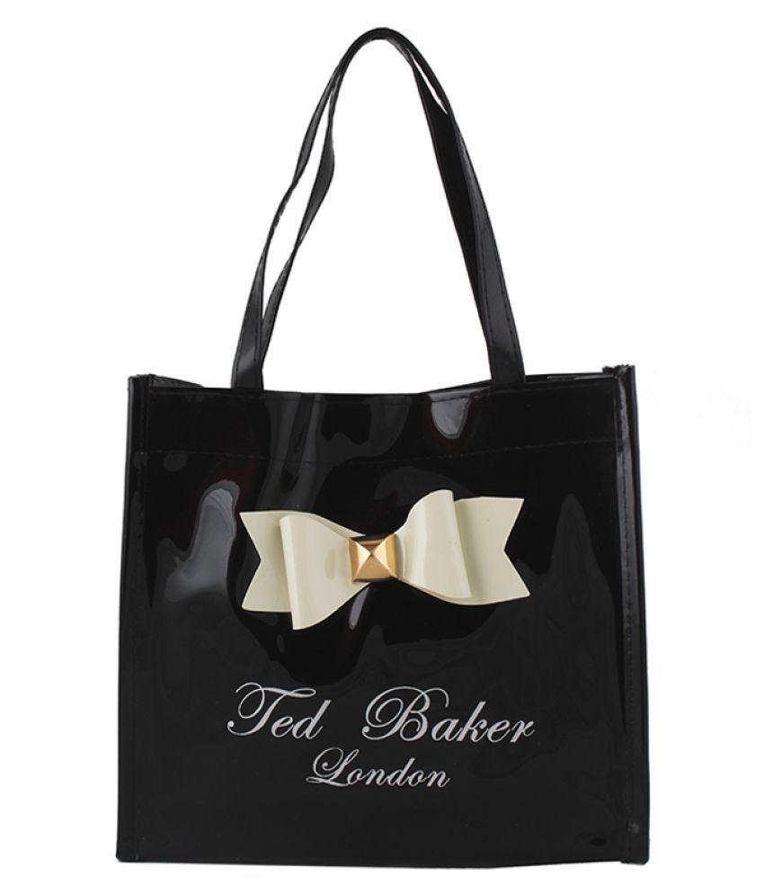 Styler Black P.U. Shoulder Bag
