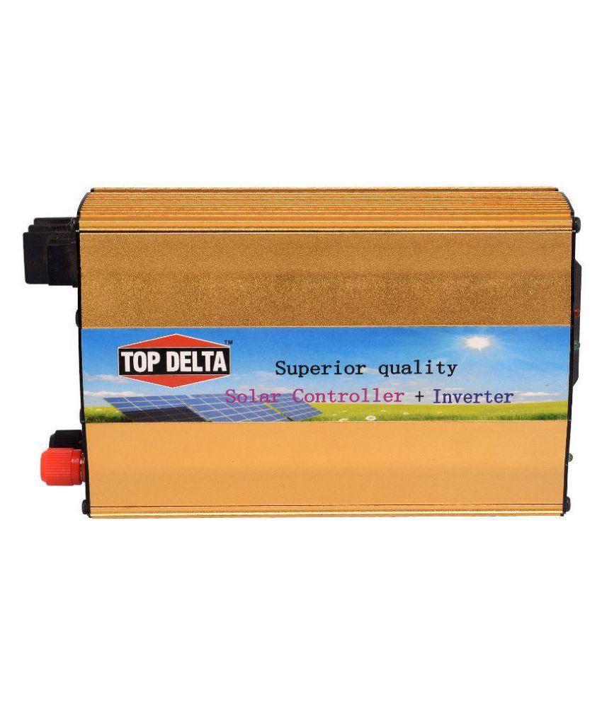 Top Delta 12V / 20A MPPT Solar Charge Controller + inverter (2 in 1)