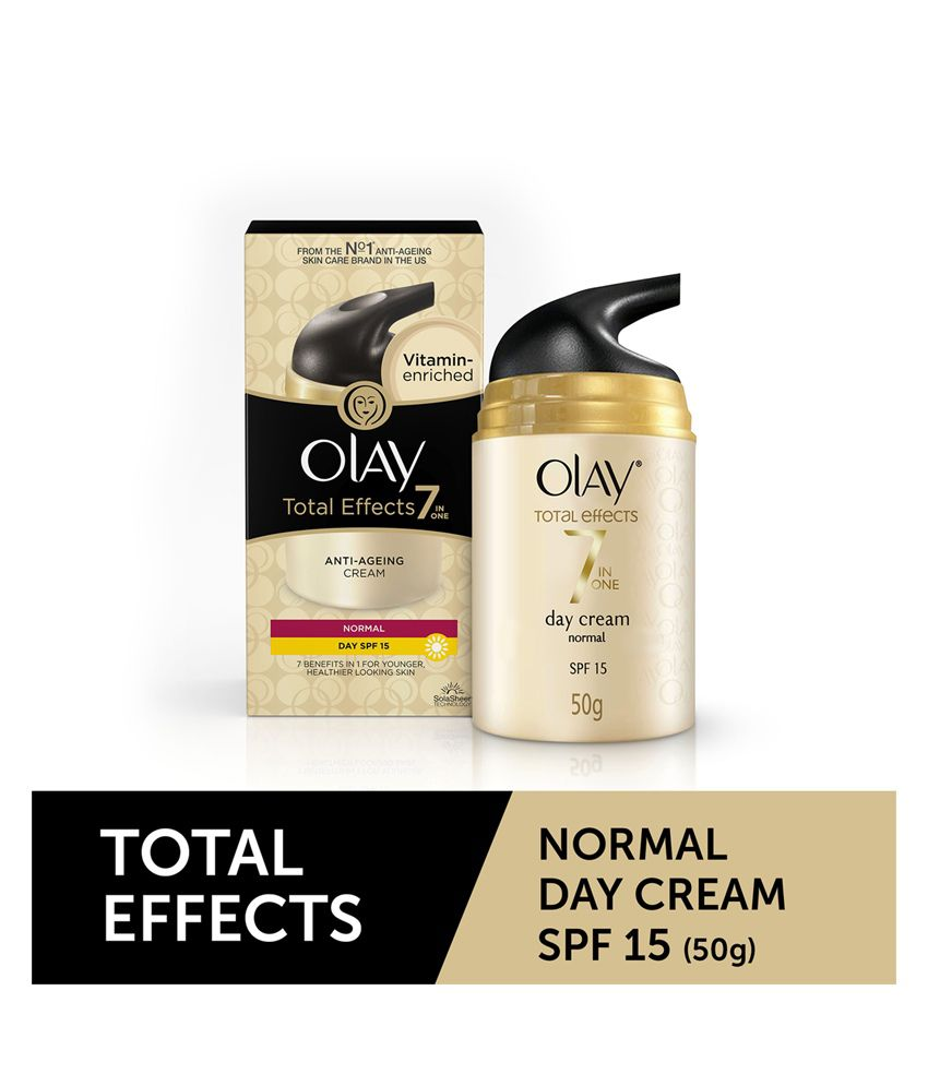 Olay Total Effects 7 In 1 Anti Aging Skin Cream (Moisturizer) - Normal  SPF15 50g