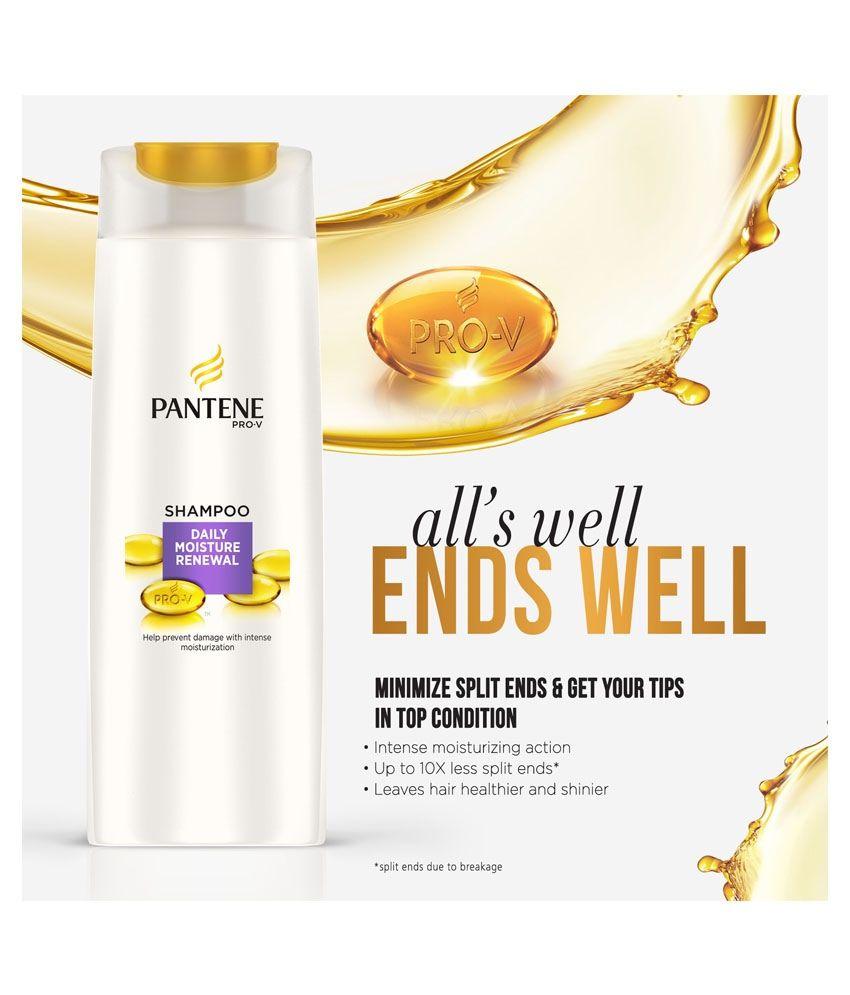 Pantene Daily Moisture Renewal Shampoo 340 Ml Buy Clear Strong Ampamp Soft