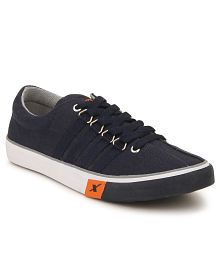 Sparx SC0162G Navy Canvas Casual Shoes