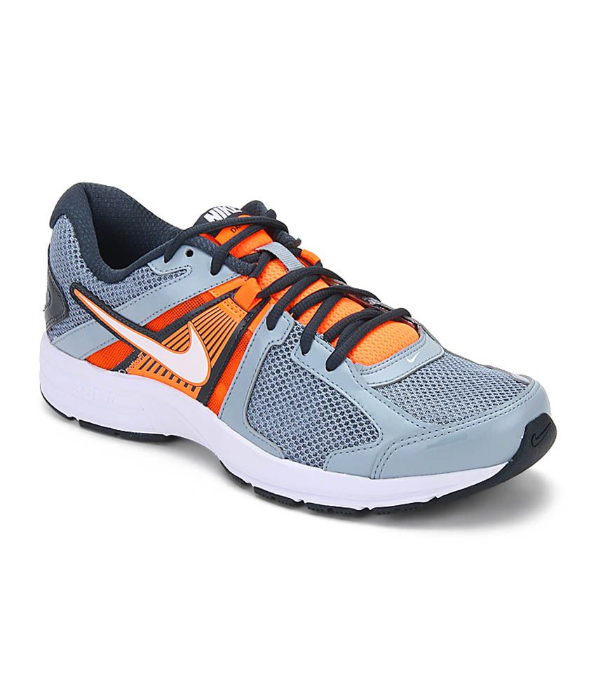 e5094a8734ac5 Nike Dart 10 Msl Gray Running Shoes Art N580527032 - Buy Nike Dart 10 Msl  Gray Running Shoes Art N580527032 Online at Best Prices in India on Snapdeal