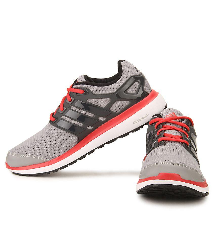 adidas nuvola di energia gray & rosso corsa le scarpe sportive comprare adidas