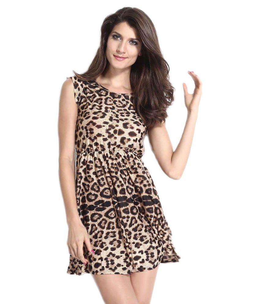 Lovemate Multi Color Chiffon Dresses