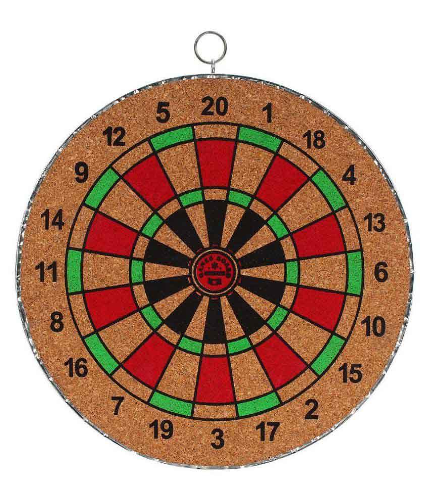 Games Board & Co. Multicolour Wooden Dart Game