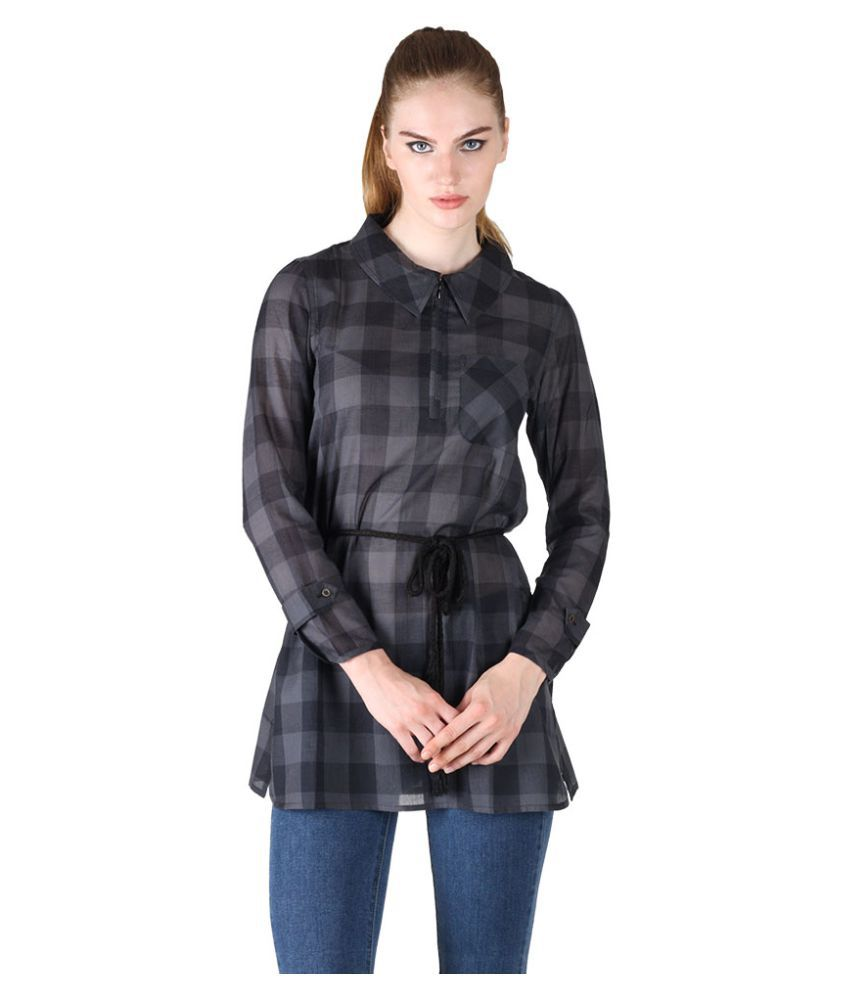 Owncraft Black Cotton Tunics