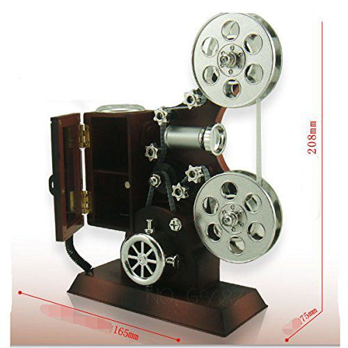 Valentines day gift mechanical classical movie projector for Mirror projector review