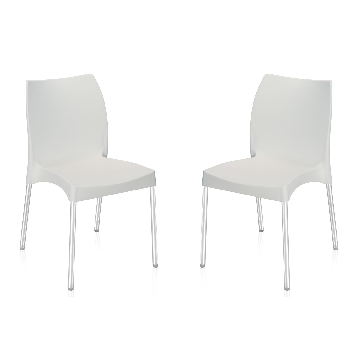 Nilkamal plastic chair - Nilkamal Novella 07 Plastic Chair Set Of 2