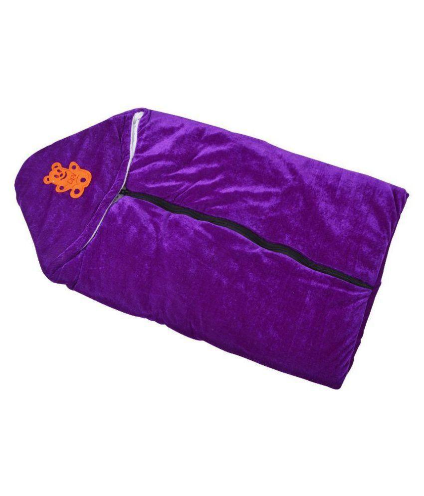 Chhote Janab Purple Fleece Baby Wrap