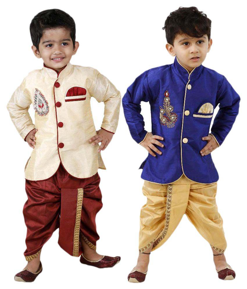 Ftcbazar Dhoti Kurts Set  Pack of  2