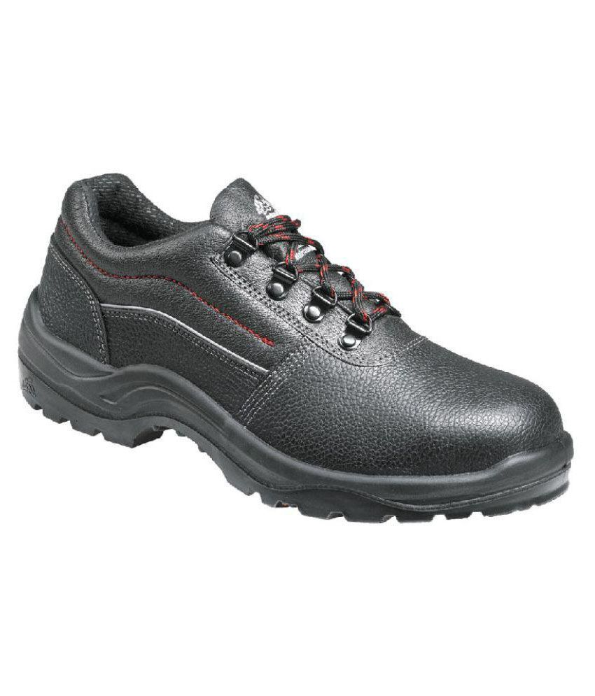 Buy Bata Mid Ankle Black Safety Shoes Online At Low Price In India - Snapdeal