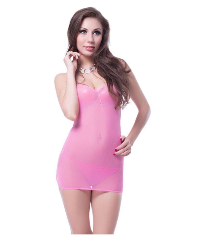 Aayanbaby Pink Polyester Teddies