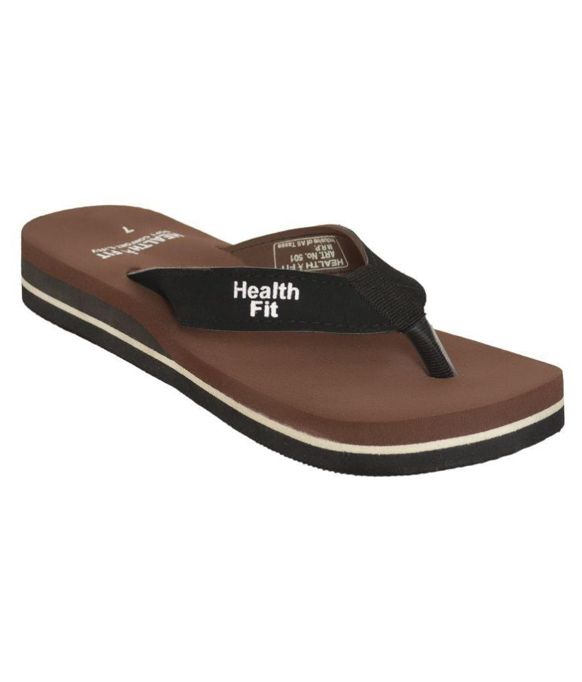 Health Fit Brown Slides