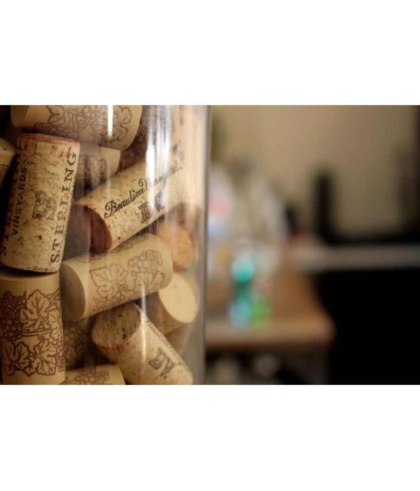 Tallenge  Corks - Bar Art  Canvas Art Prints Without Frame Single Piece