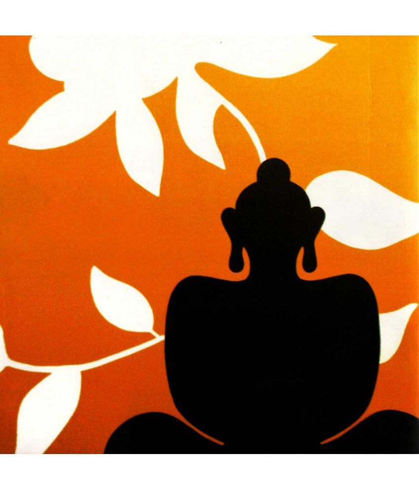 Tallenge  Graphic Art - Lotus Buddha  Canvas Art Prints Without Frame Single Piece