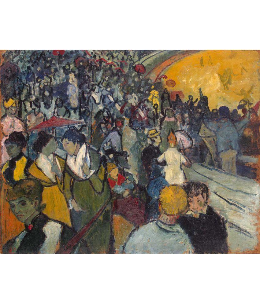 Tallenge  Van Gogh - Les Arènes  Canvas Art Prints Without Frame Single Piece