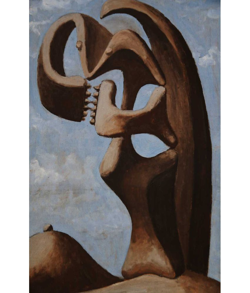 Tallenge Picasso - Abstraction Background With Blue Cloudy Sky, Picasso  Canvas Art Prints Without Frame Single Piece