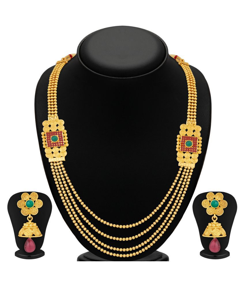 Sukkhi Golden Necklace Set