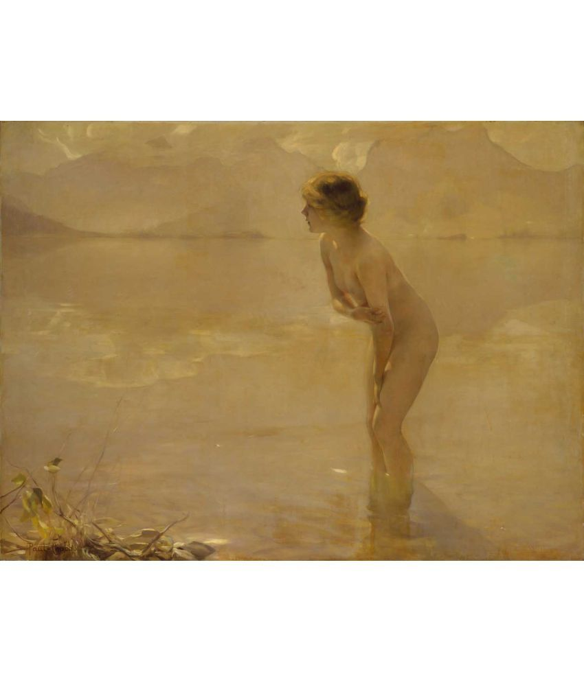 Tallenge Paul Emile Chabas - September Morn Canvas Art Prints Without Frame Single Piece
