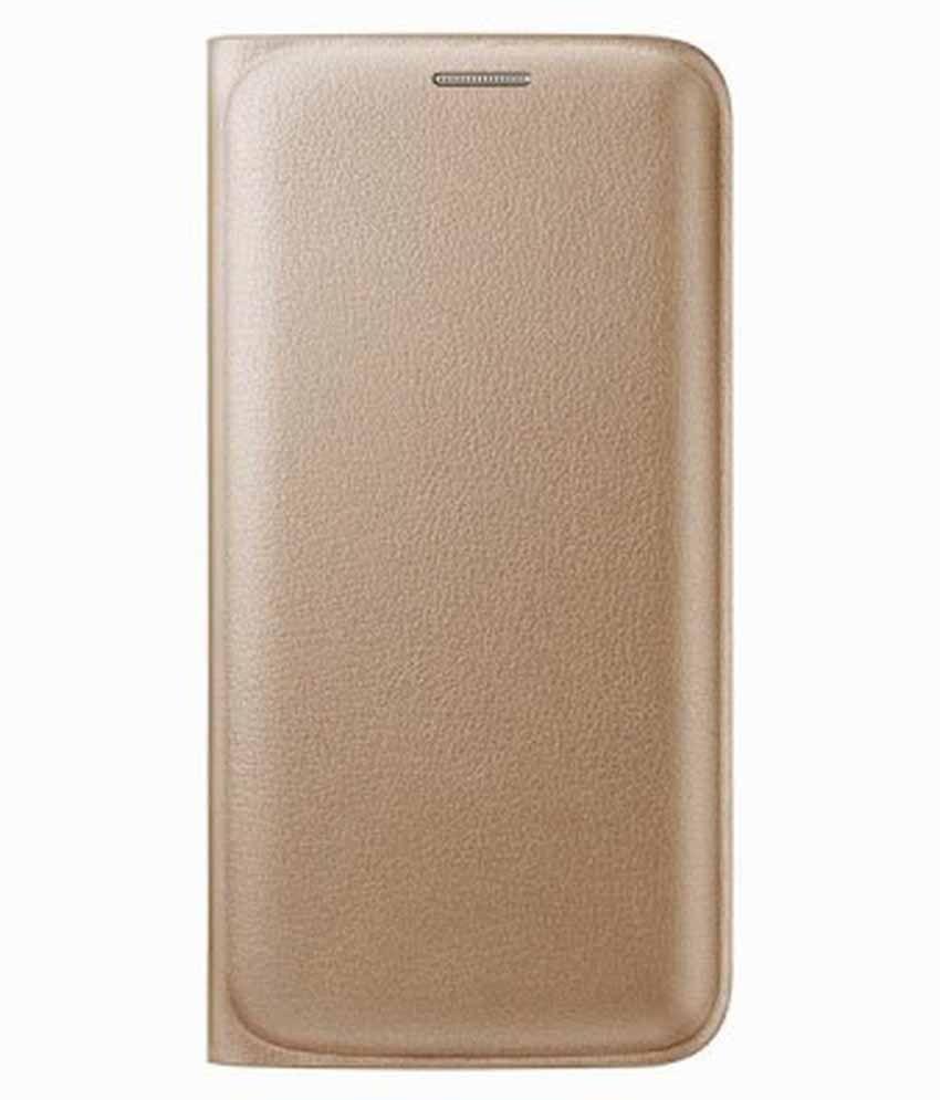 Oppo F1 Plus Flip Cover by Sedoka - Golden