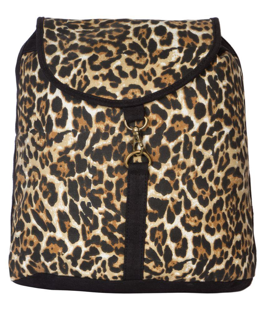 Urban Colorz Multi Jute Backpack