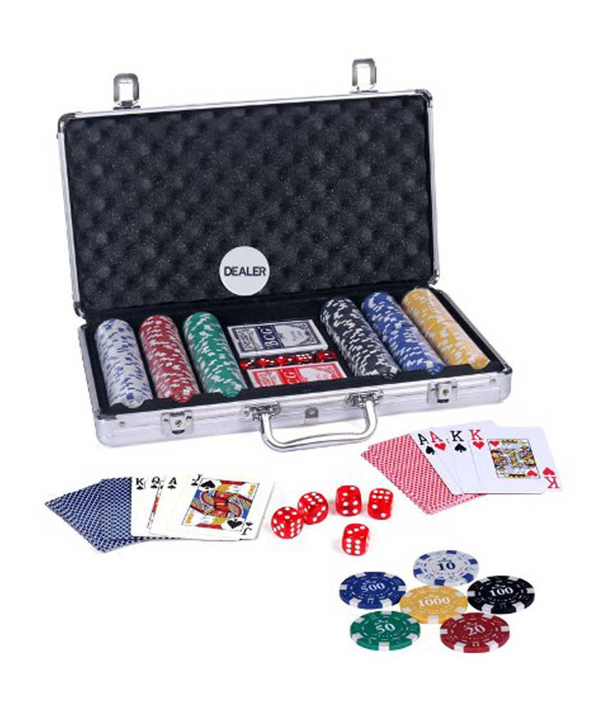 Casinoite - Diced Poker Chipset With Printing 300 Pcs