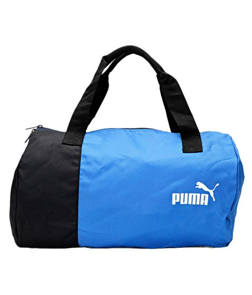 Puma Blue Gym Bag