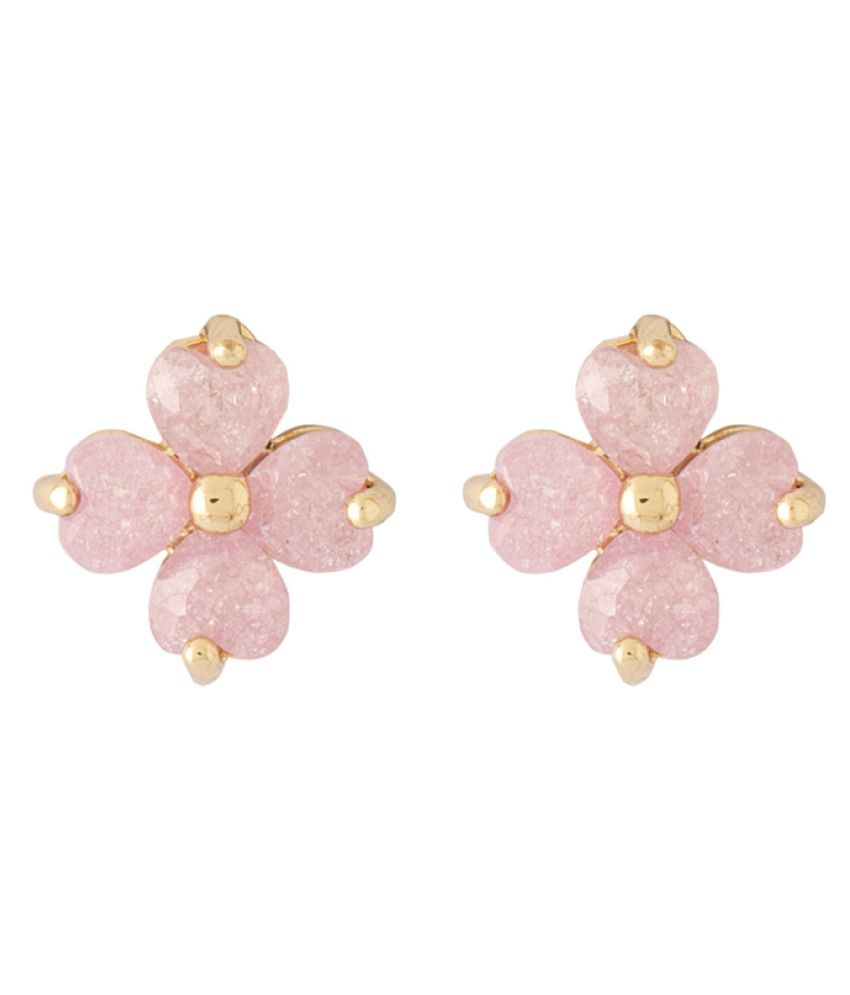 Voylla Pink Earrings