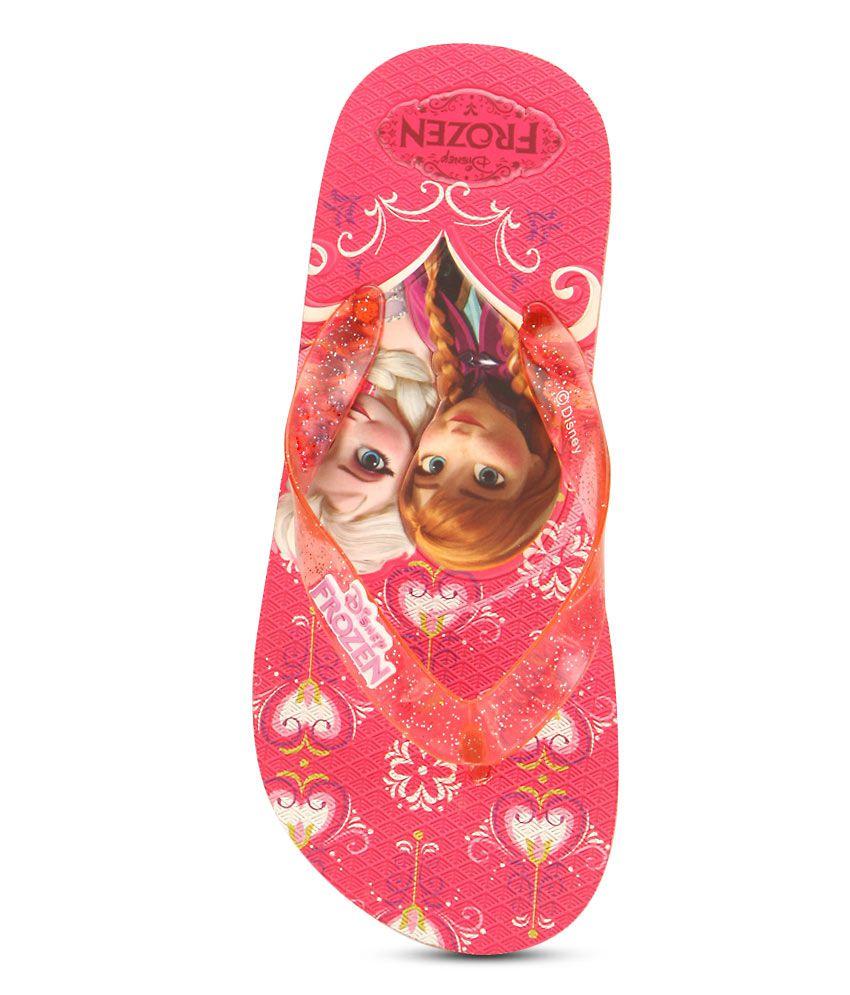 ... Disney Frozen Pink Flipflops ...
