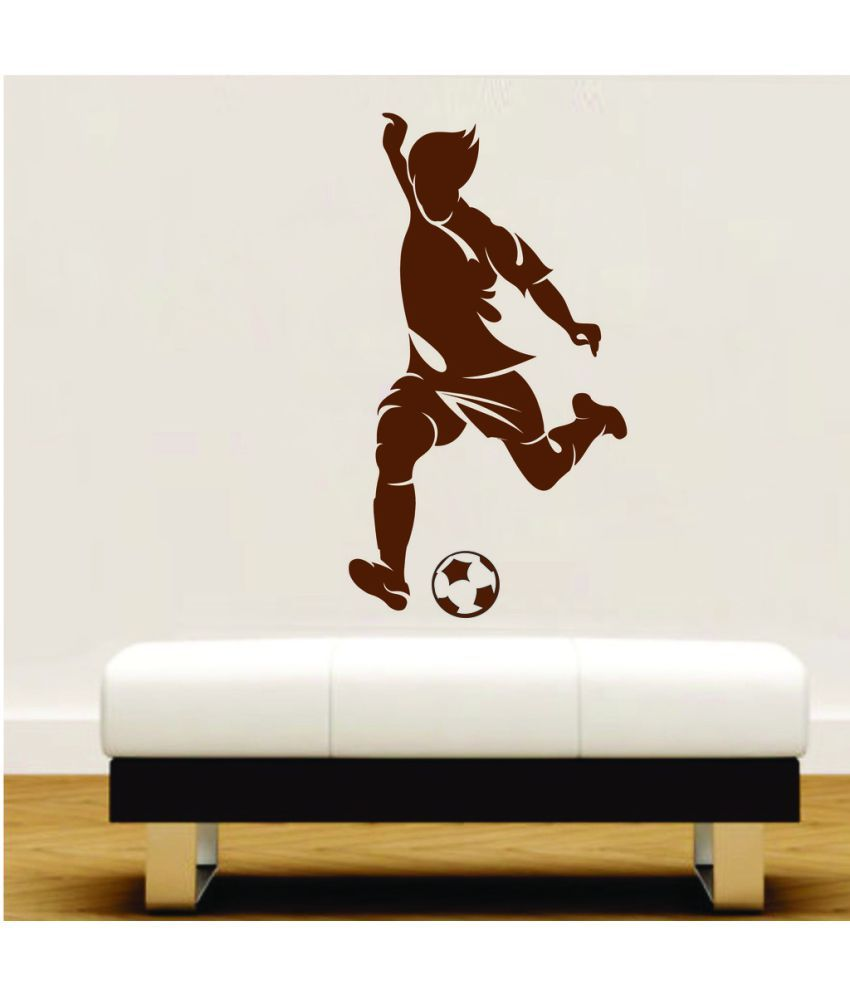 ed645615c8c5 Decor Villa Kick The Football Wall PVC Wall Stickers - Buy Decor Villa Kick  The Football Wall PVC Wall Stickers Online at Best Prices in India on  Snapdeal