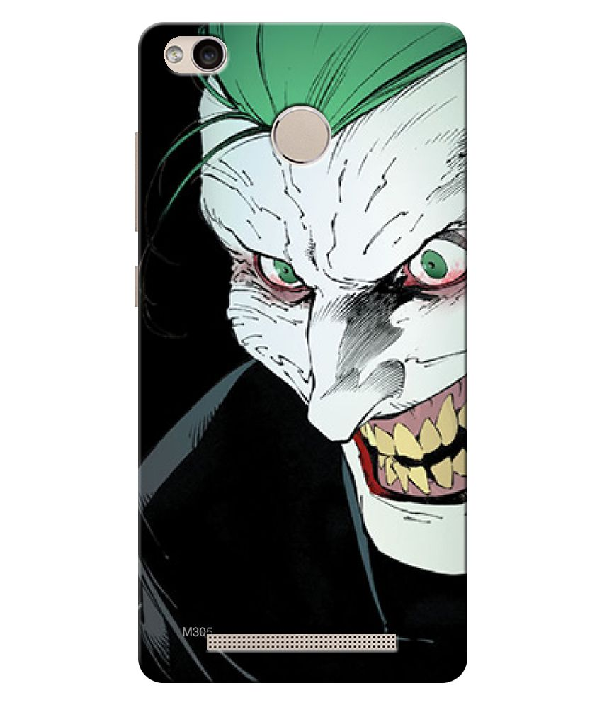 Finest Combo Of Joker Hd Uv Printed Mobile Back Cover And Tempered