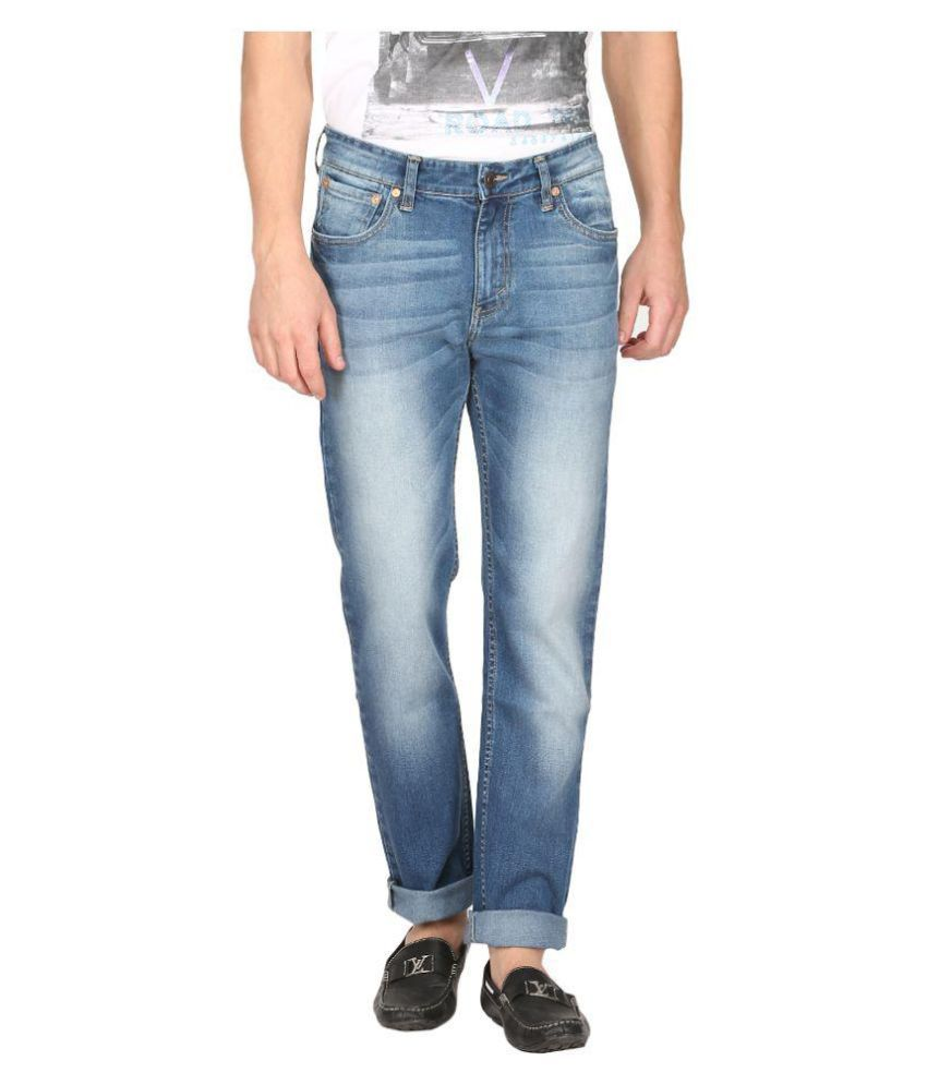 Levi's Blue Slim Faded