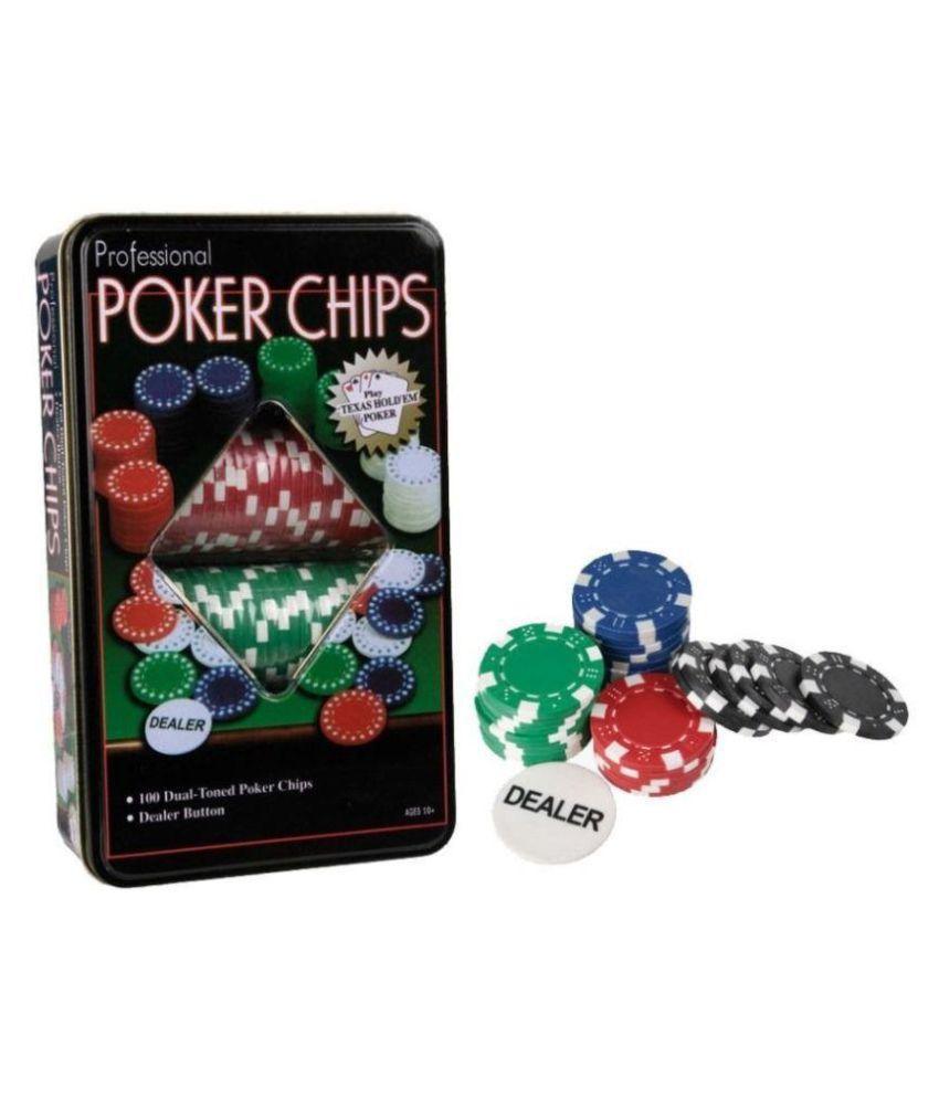 Riddhi Siddhi Plastic Porker Chips