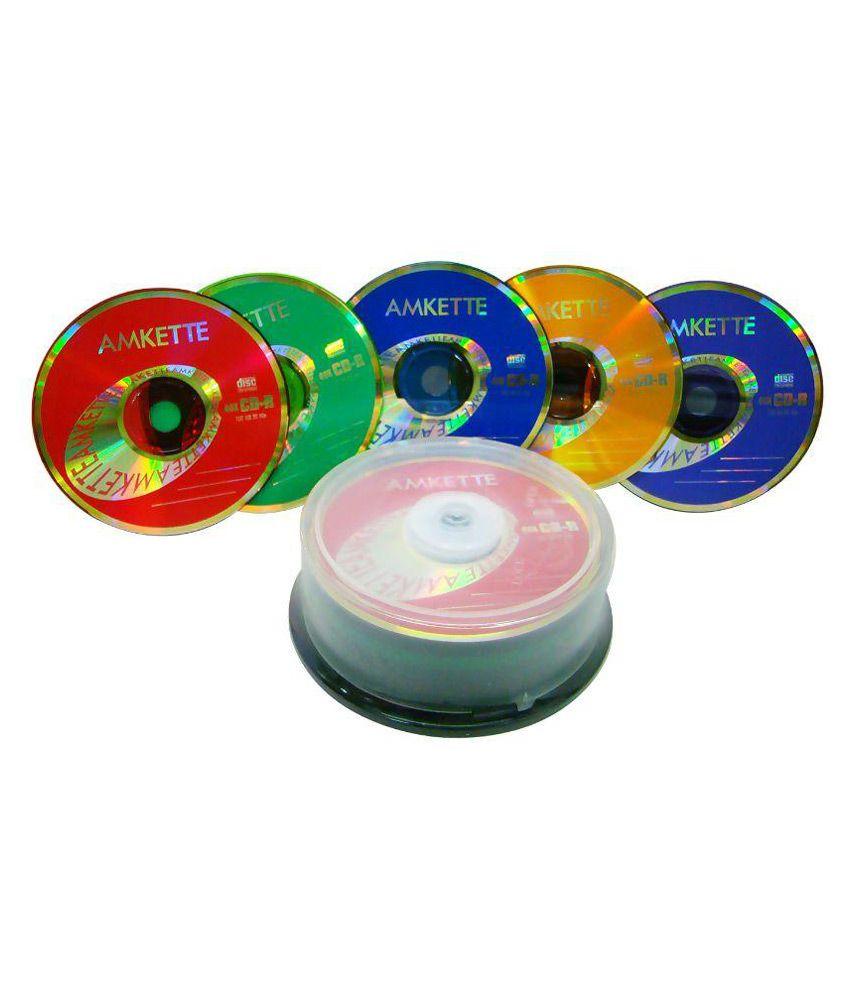 Amkette 40X CD-R (Pack of 25 )