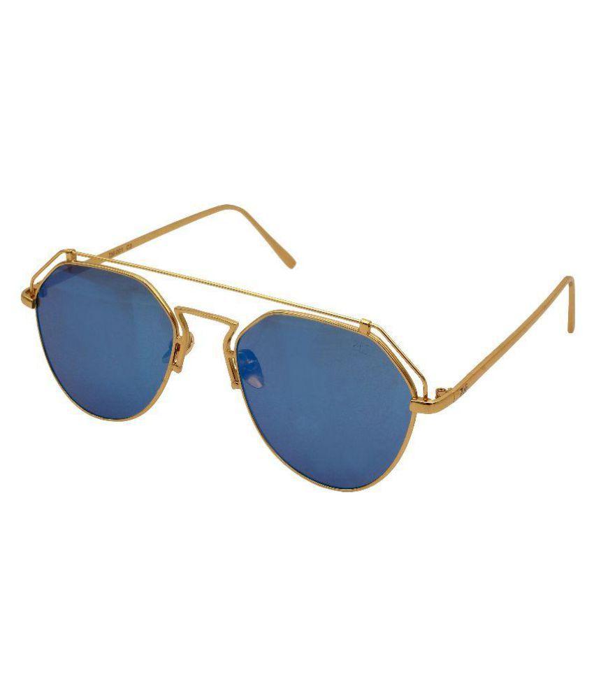 Zins Blue Aviator Sunglasses ( ZS 001 C2 )