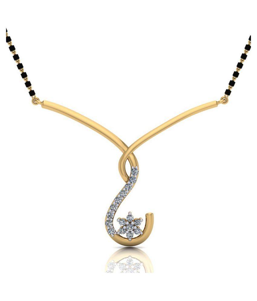 Gehnabox 18k Gold Mangalsutra