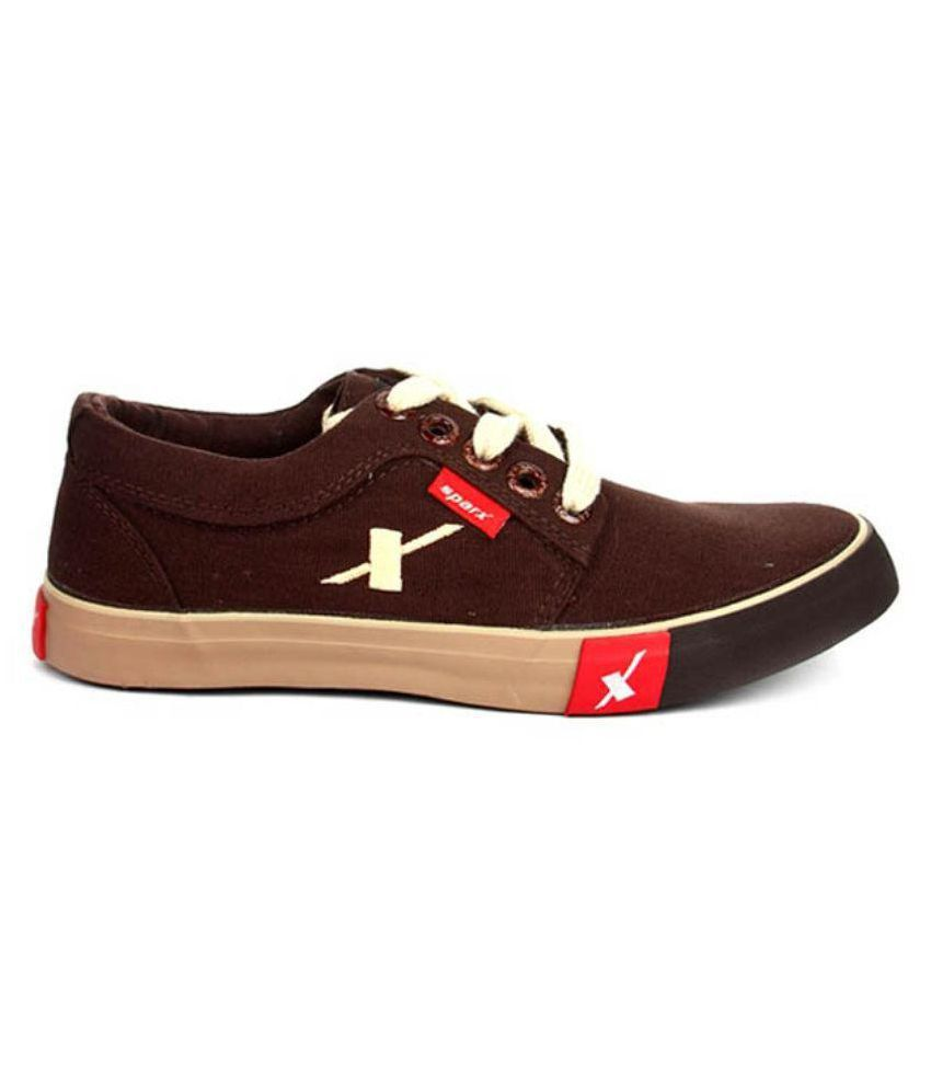 Sparx Lifestyle Brown Casual Shoes