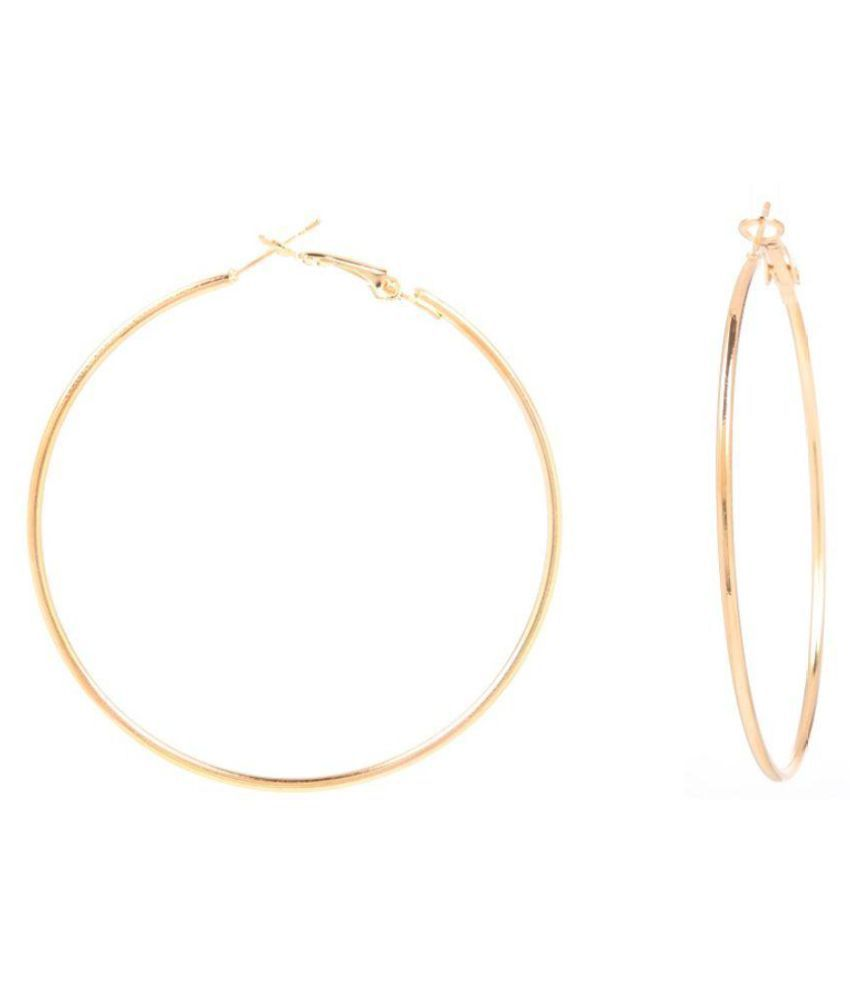 Goldnera Golden Hoop Earrings