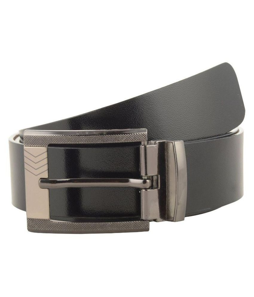 Jackblack Black Leather Formal Belts
