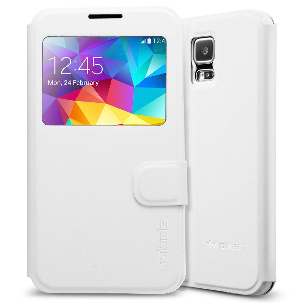 Samsung Galaxy S5 Cover by Spigen - White