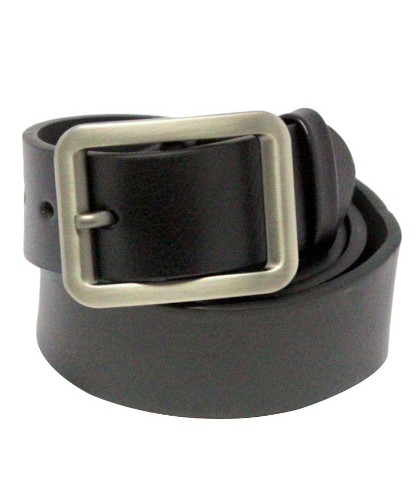 Bestdeal Black Rubber Formal Belts