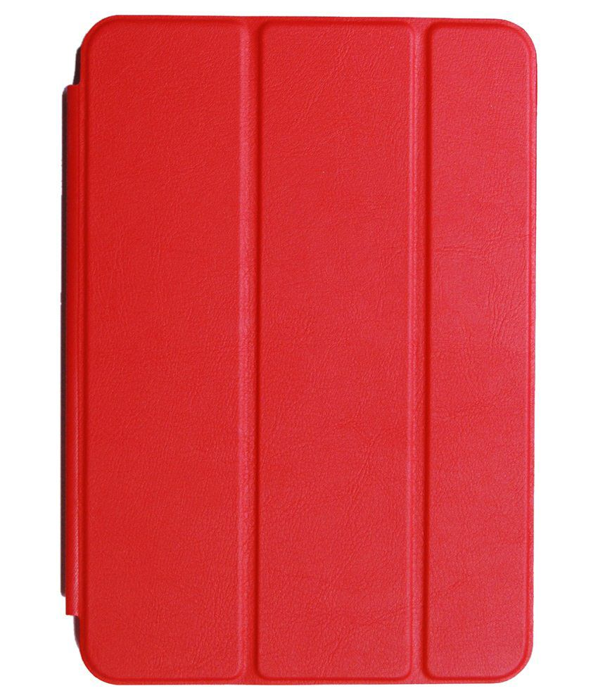 Apple iPad 4 Flip Cover By JMD Red