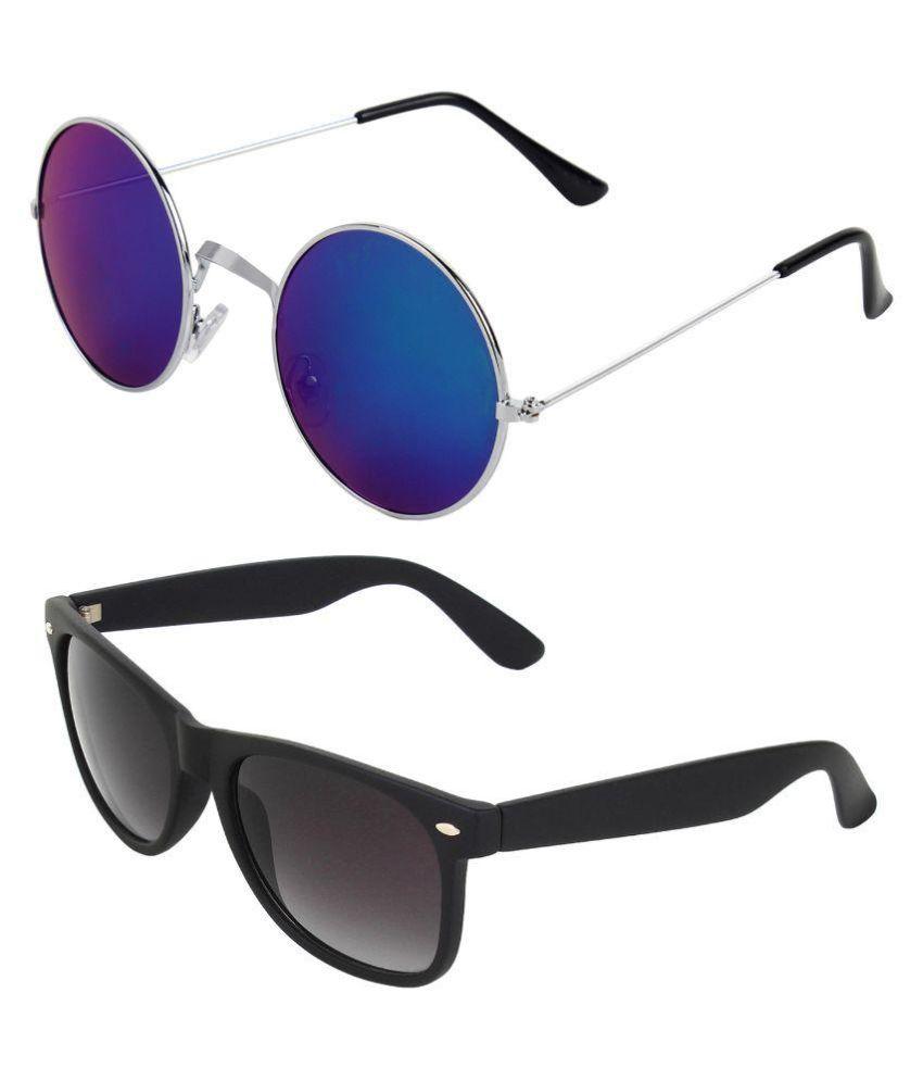Zyaden - Black Square Sunglasses ( Com-113 )
