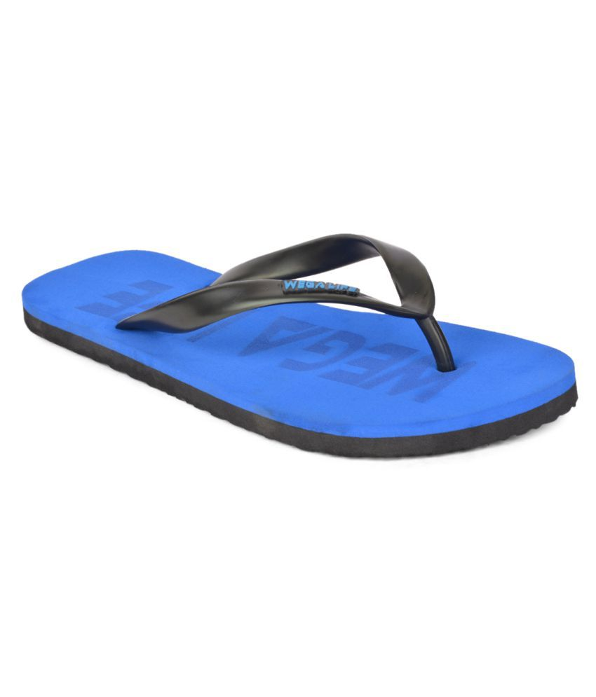 Wega Life Blue Slippers