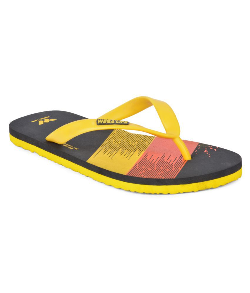 Wega Life Yellow Slippers