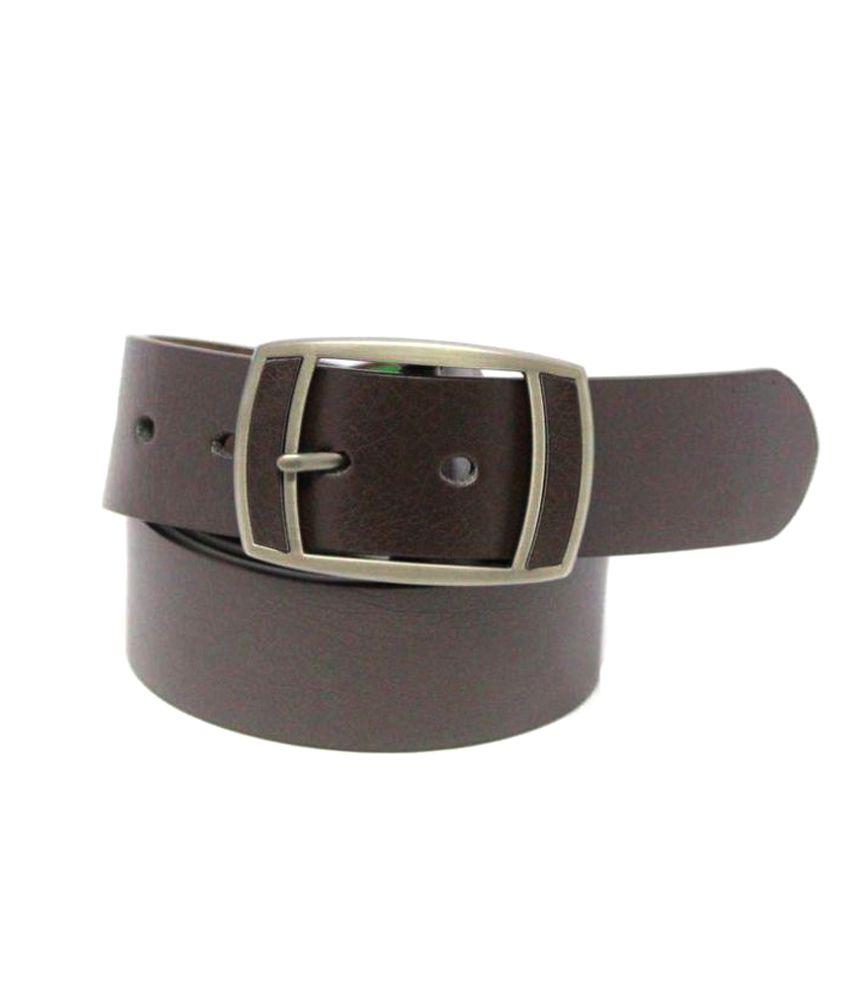 Bestdeal Brown Rubber Formal Belts
