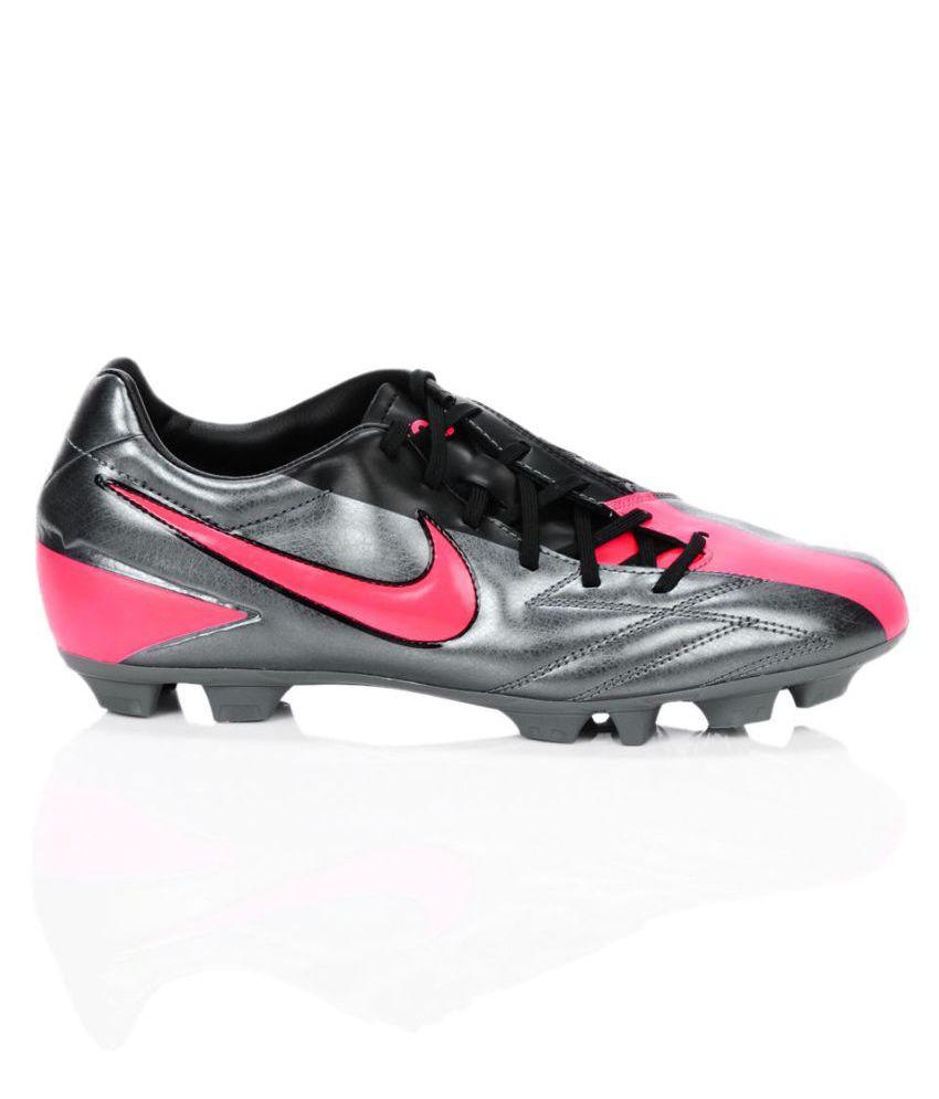 ... Nike T90 Shoot IV HG-B Football Shoes/ Studds Unisex Black ...