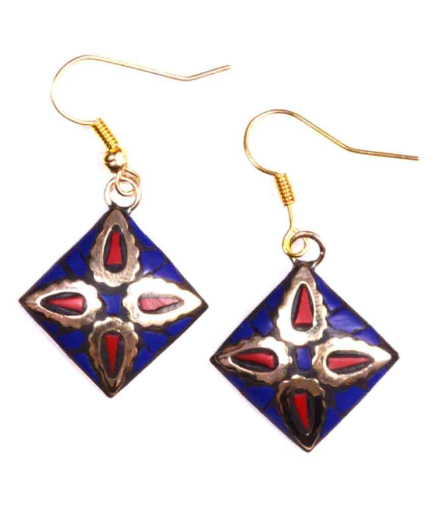 Shree Mangalam Mart Multicolour Hanging Earrings