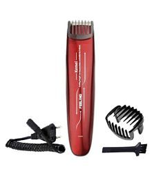 Kemei professional trimmer Multigrooming Kit ( red )
