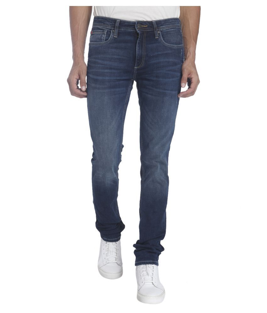 Jack & Jones Blue Regular Fit Solid
